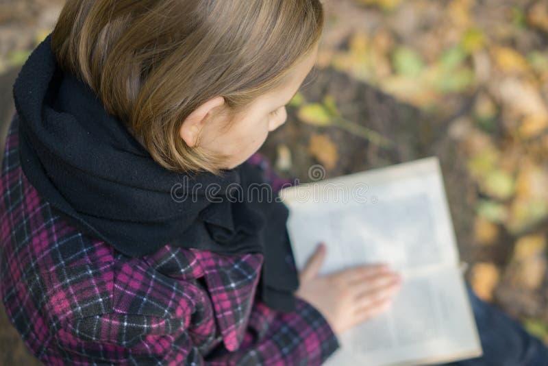Ανάγνωση στο πάρκο στοκ φωτογραφία