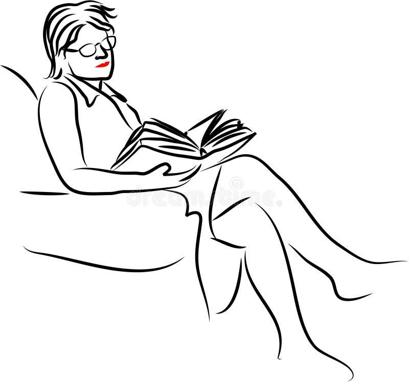 ανάγνωση διανυσματική απεικόνιση