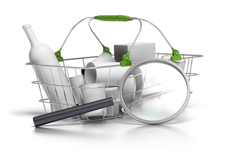 Ανάλυση κατανάλωσης ελεύθερη απεικόνιση δικαιώματος