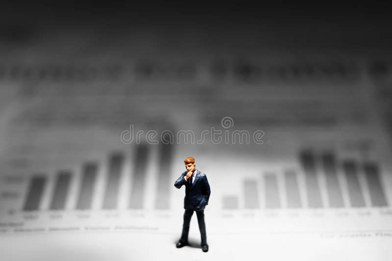 ανάλυση της αγοράς στοκ φωτογραφία