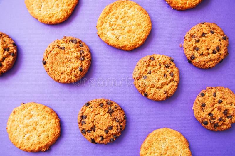 Ανάμεικτα αμερικανικά παραδοσιακά ντεμοντέ μπισκότα r στοκ εικόνες