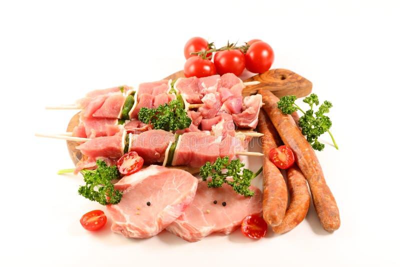 ανάμεικτα κρέατα ακατέργα στοκ φωτογραφίες με δικαίωμα ελεύθερης χρήσης