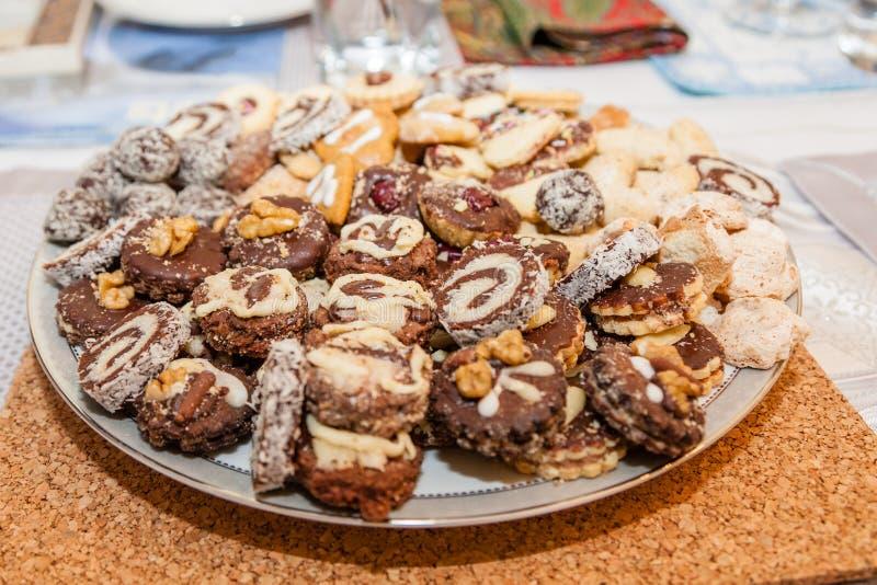 Ανάμεικτα μπισκότα στοκ φωτογραφίες