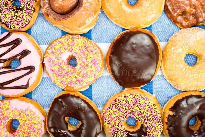 ανάμεικτα donuts στοκ φωτογραφίες