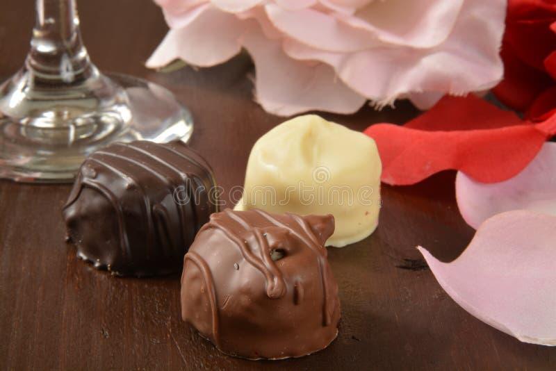 Ανάμεικτες γαστρονομικές σοκολάτες στοκ εικόνα με δικαίωμα ελεύθερης χρήσης