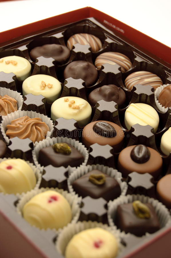 Download ανάμεικτες σοκολάτες στοκ εικόνα. εικόνα από περίκομψος - 13188553