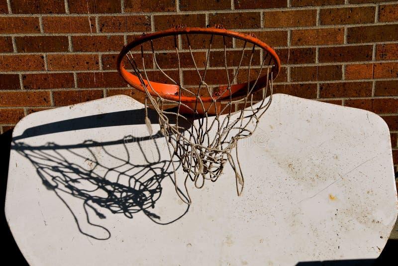 Ανάποδη ράχη καλαθοσφαίρισης στοκ εικόνα