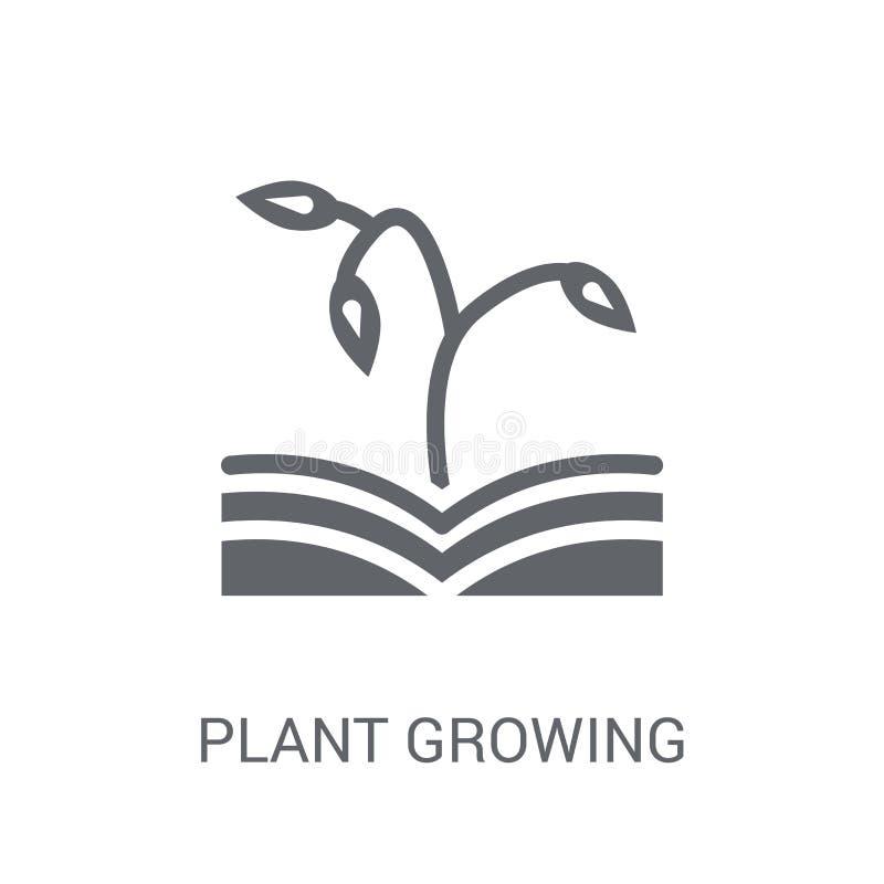ανάπτυξη εγκαταστάσεων στο εικονίδιο βιβλίων Καθιερώνουσα τη μόδα ανάπτυξη εγκαταστάσεων στο λογότυπο βιβλίων ομο απεικόνιση αποθεμάτων