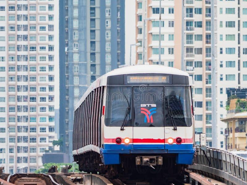 Ανάπτυξη σιδηροδρόμων στη Μπανγκόκ, Ταϊλάνδη στοκ εικόνες
