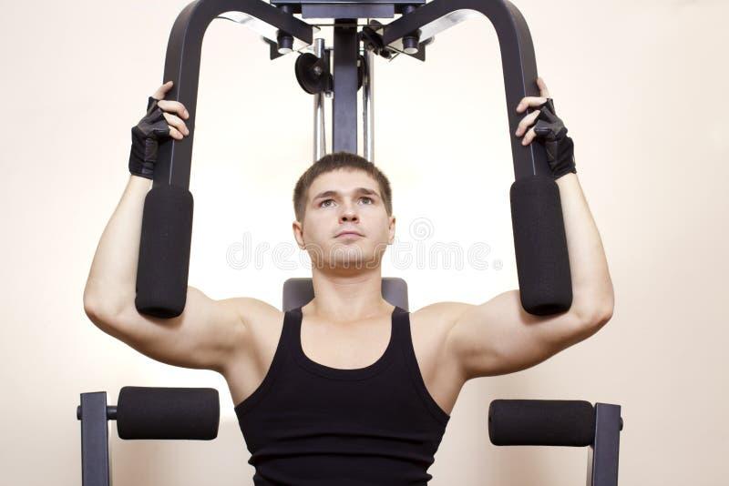 Ανάπτυξη των μυών στοκ εικόνες με δικαίωμα ελεύθερης χρήσης