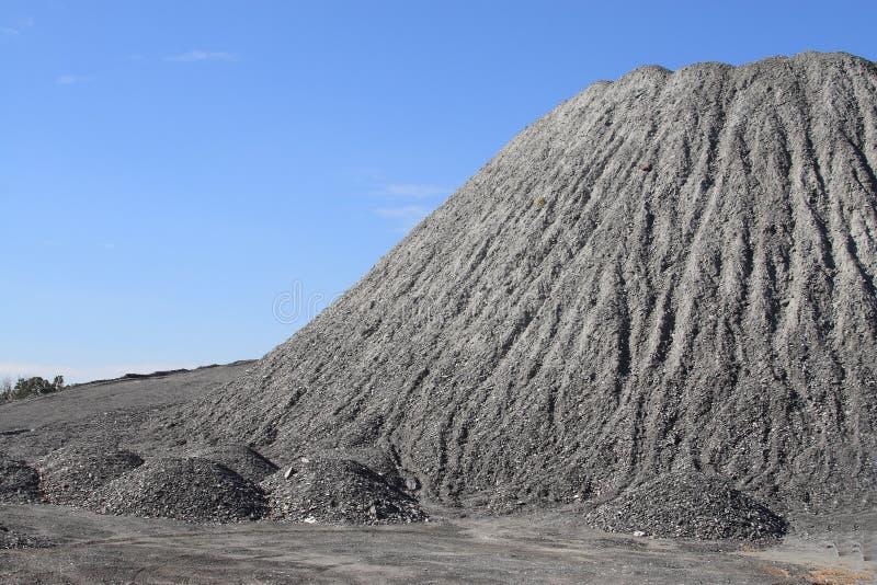 ανάχωμα αμμοχάλικου στοκ φωτογραφία