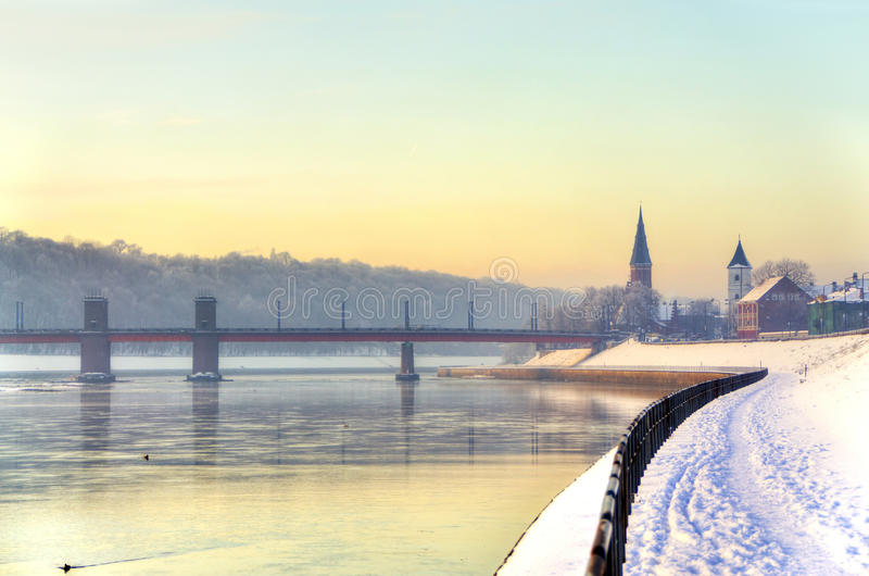 Ανάχωμα Kaunas στοκ εικόνες με δικαίωμα ελεύθερης χρήσης
