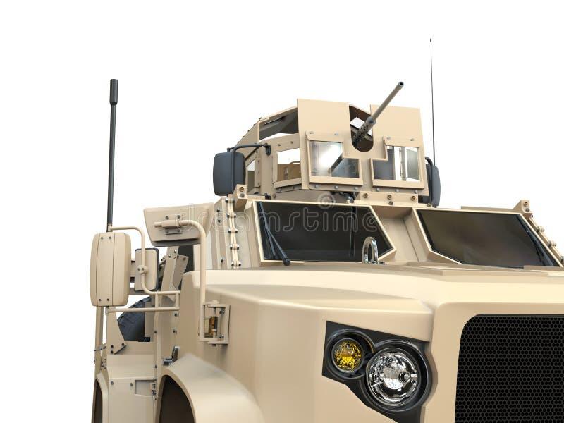 Ανάψτε όλο το τακτικό στρατιωτικό όχημα εκτάσεων στοκ εικόνα