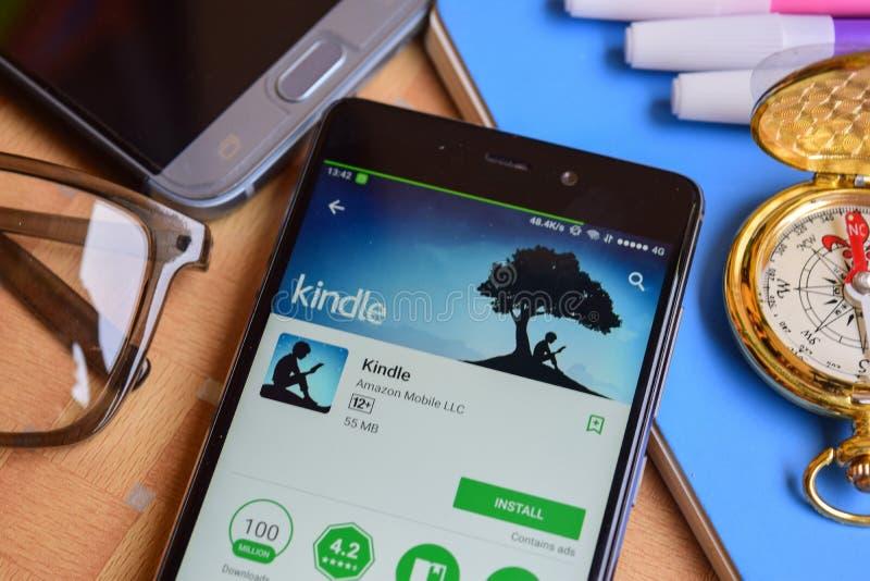 Ανάψτε dev την εφαρμογή στην οθόνη Smartphone στοκ εικόνα με δικαίωμα ελεύθερης χρήσης