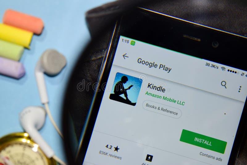 Ανάψτε dev app με την ενίσχυση στην οθόνη Smartphone στοκ φωτογραφίες με δικαίωμα ελεύθερης χρήσης