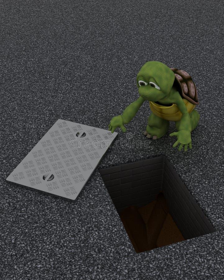 Ανάδοχος κτηρίου Tortoise ελεύθερη απεικόνιση δικαιώματος