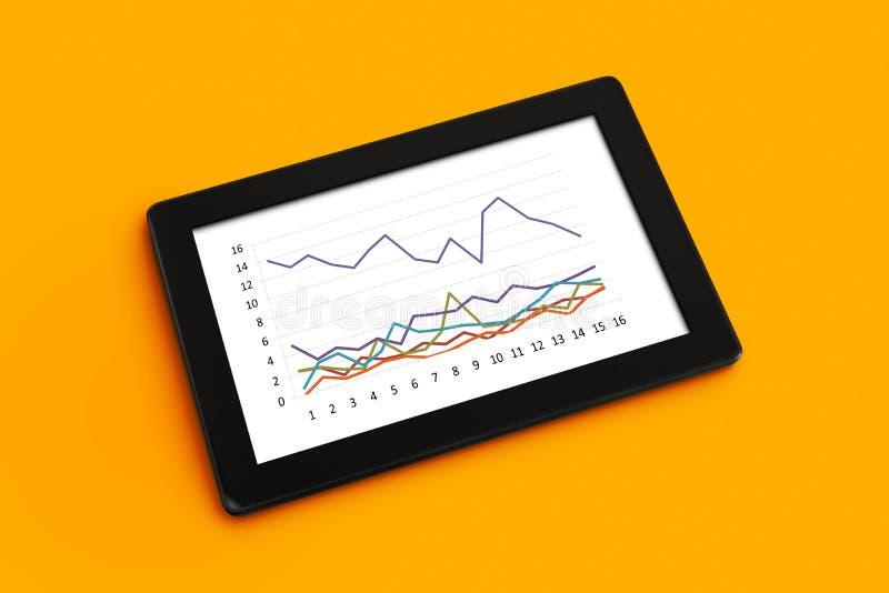 Ανάλυση επιχειρησιακών διαγραμμάτων στοκ εικόνες με δικαίωμα ελεύθερης χρήσης