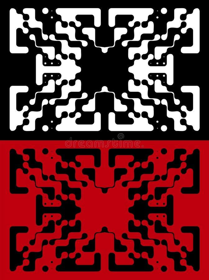 Download ανίχνευση σχεδίου συνήθ&e διανυσματική απεικόνιση. εικονογραφία από μαύρα - 17056583