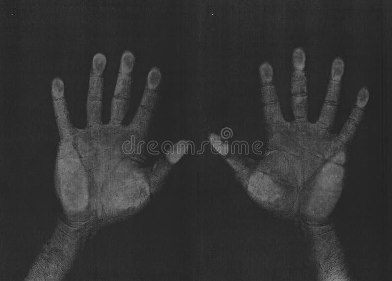ανίχνευση φωτοτυπιών χερ&io στοκ φωτογραφία με δικαίωμα ελεύθερης χρήσης