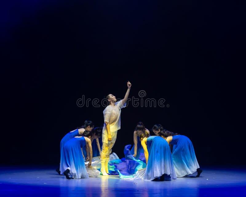 Αναγέννηση-μπλε χορός ` κύμα-Huang Mingliang ` s θάλασσας κανένα καταφύγιο ` στοκ φωτογραφία με δικαίωμα ελεύθερης χρήσης