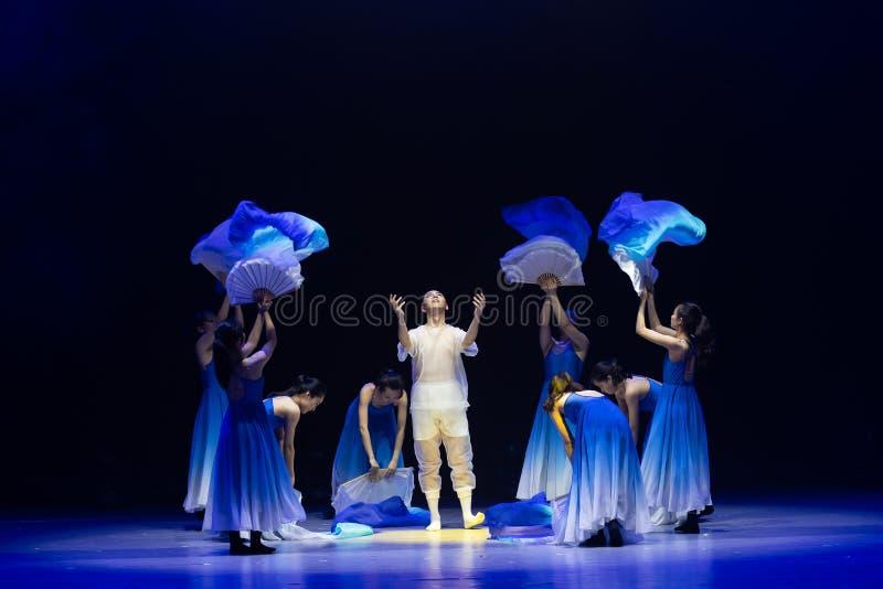 Αναγέννηση-μπλε χορός ` κύμα-Huang Mingliang ` s θάλασσας κανένα καταφύγιο ` στοκ εικόνες