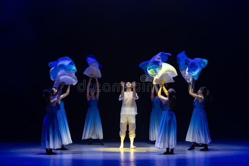 Αναγέννηση-μπλε χορός ` κύμα-Huang Mingliang ` s θάλασσας κανένα καταφύγιο ` στοκ φωτογραφία