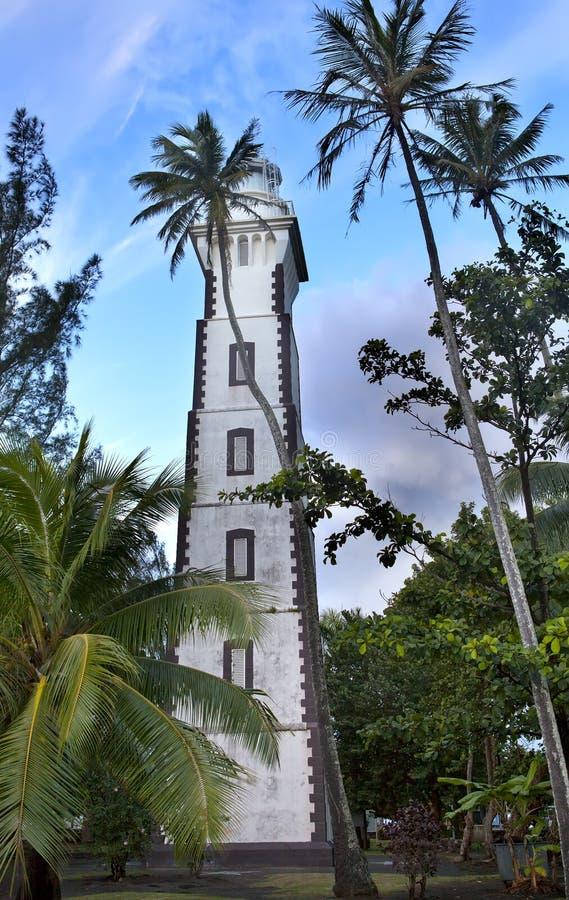 Αναγνωριστικό σήμα στο σημείο Αφροδίτη, Ταϊτή ακρωτηρίων στοκ εικόνες