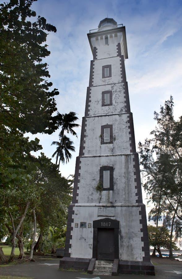 Αναγνωριστικό σήμα στο σημείο Αφροδίτη, Ταϊτή ακρωτηρίων στοκ εικόνα