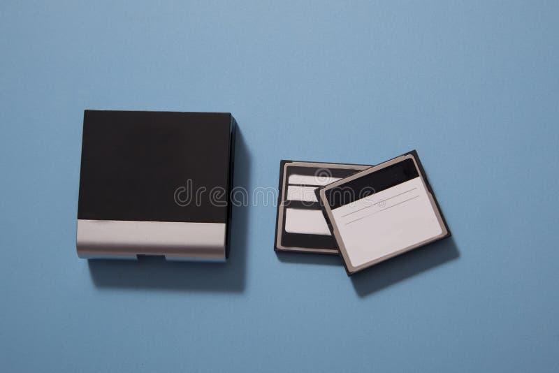Αναγνώστης καρτών καμερών στοκ φωτογραφίες