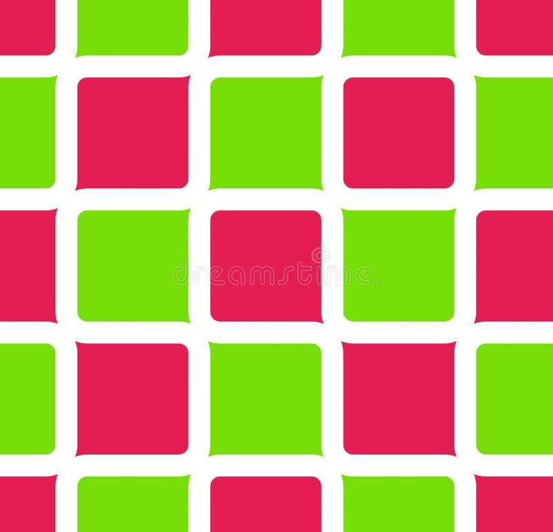 αναδρομικά τετράγωνα ελεύθερη απεικόνιση δικαιώματος