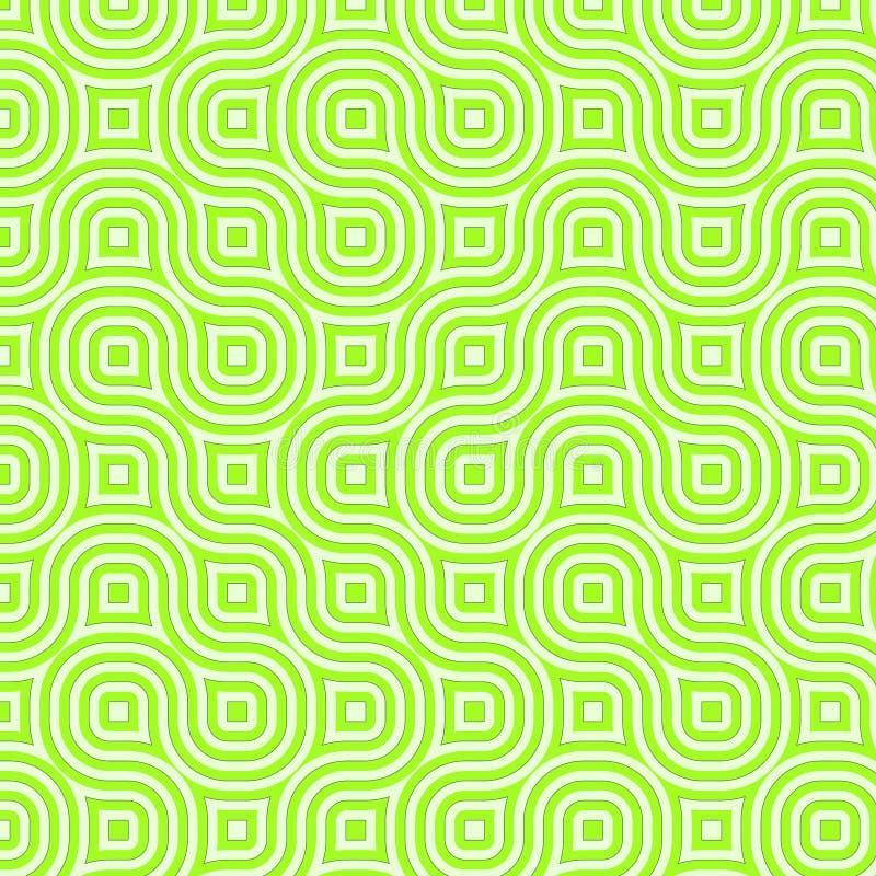 αναδρομικά τετράγωνα διανυσματική απεικόνιση