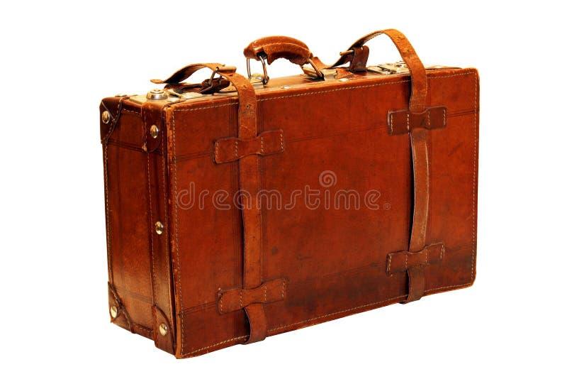 αναδρομική βαλίτσα στοκ φωτογραφία
