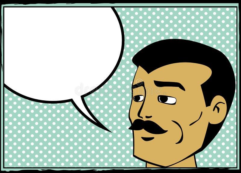 αναδρομική ομιλία ατόμων φ&u απεικόνιση αποθεμάτων