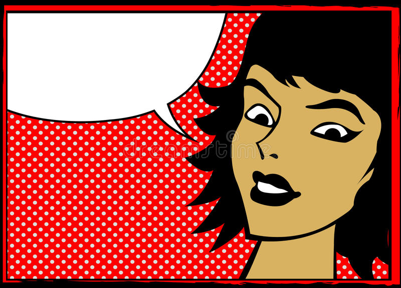 αναδρομική ομιλία κοριτ&sig απεικόνιση αποθεμάτων