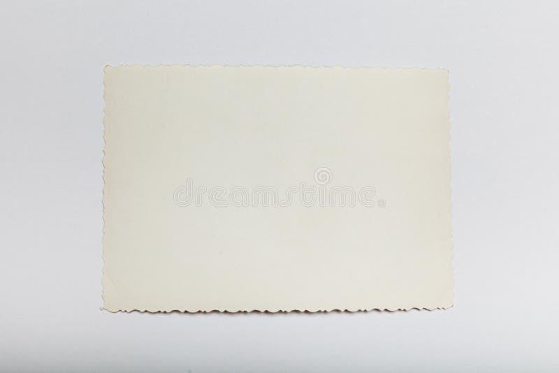 Αναδρομική φωτογραφία εγγράφου, παλαιά κάρτα εικόνων Παλαιό υπόβαθρο r στοκ εικόνα