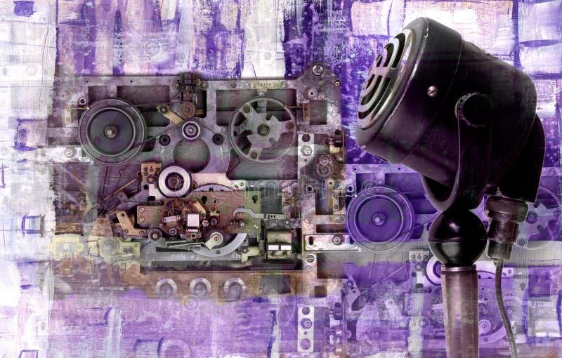 αναδρομικός τρύγος μικρ&omicr στοκ εικόνες