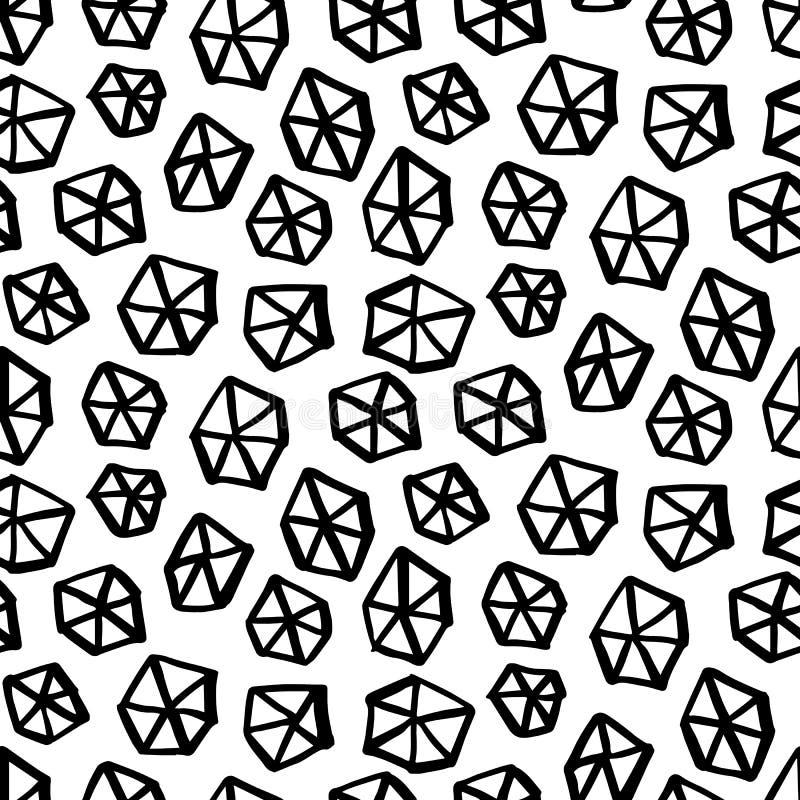Αναδρομικό άνευ ραφής σχέδιο της Μέμφιδας απεικόνιση αποθεμάτων