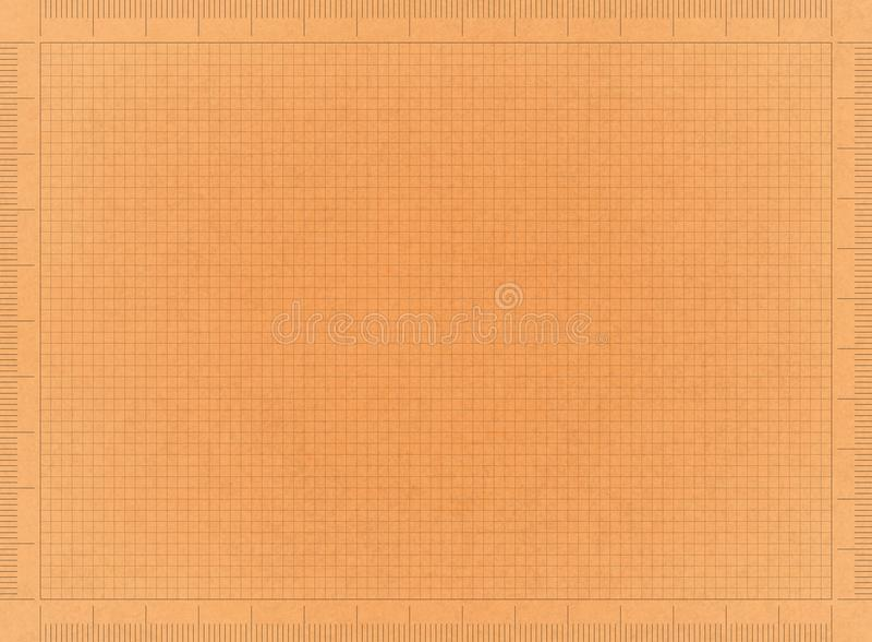 Αναδρομικό έγγραφο σχεδιαγραμμάτων στοκ εικόνα με δικαίωμα ελεύθερης χρήσης