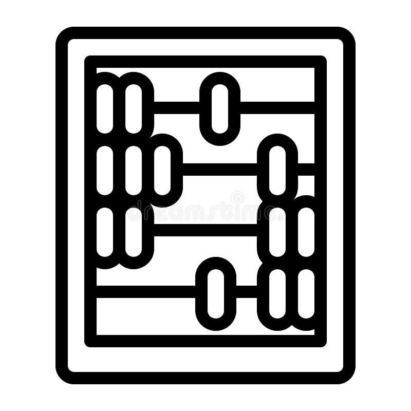 Αναδρομικό ξύλινο εικονίδιο υπολογιστών, ύφος περιλήψεων απεικόνιση αποθεμάτων