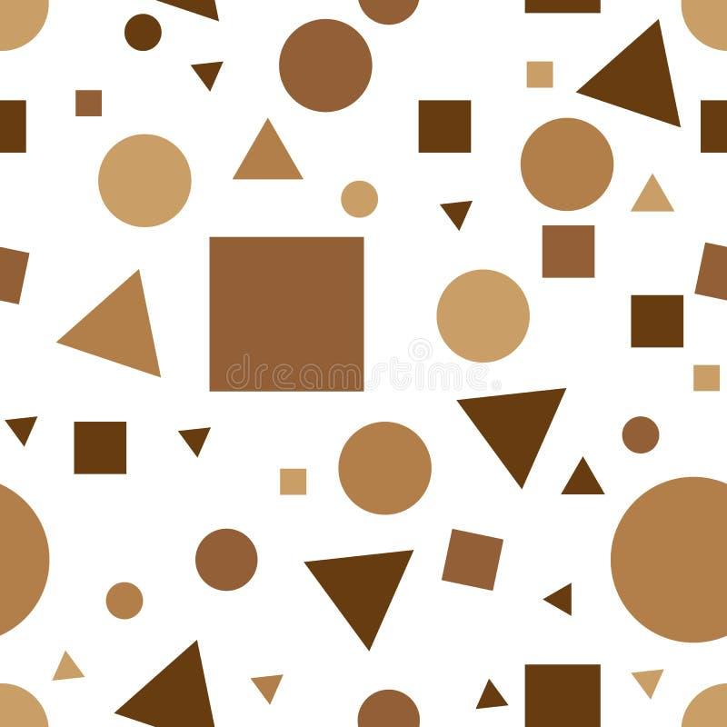 Αναδρομικό σχέδιο της Μέμφιδας - άνευ ραφής υπόβαθρο Άνευ ραφής αφηρημένο γεωμετρικό σχέδιο στο αναδρομικό ύφος της Μέμφιδας, η 8 διανυσματική απεικόνιση