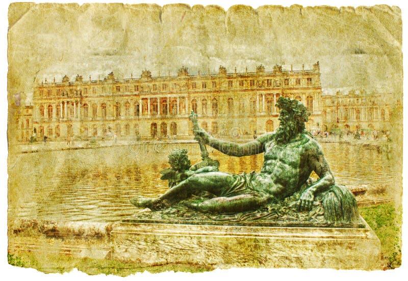 αναδρομικό ύφος εικόνων της Γαλλίας απεικόνιση αποθεμάτων