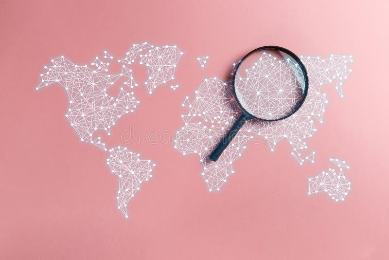 Αναζήτηση πληροφοριών έννοιας στοκ εικόνες με δικαίωμα ελεύθερης χρήσης