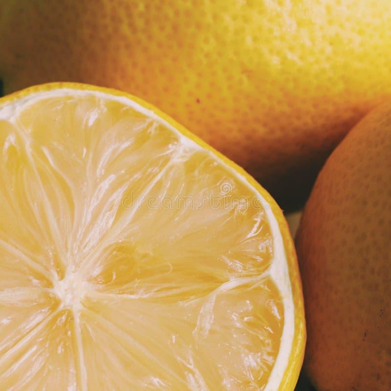 Αναζωογονώντας λεμόνια στοκ φωτογραφία