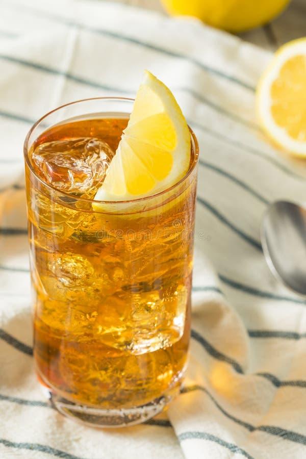 Αναζωογονώντας νότιο γλυκό παγωμένο τσάι στοκ εικόνες