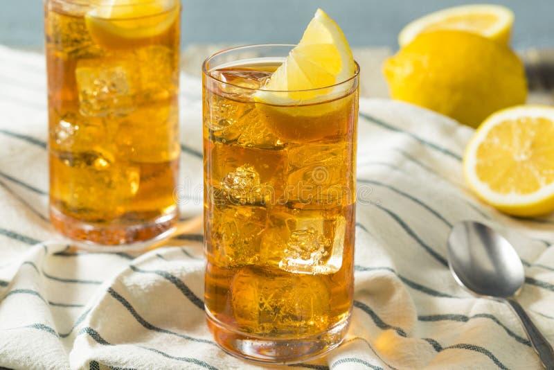 Αναζωογονώντας νότιο γλυκό παγωμένο τσάι στοκ εικόνα με δικαίωμα ελεύθερης χρήσης