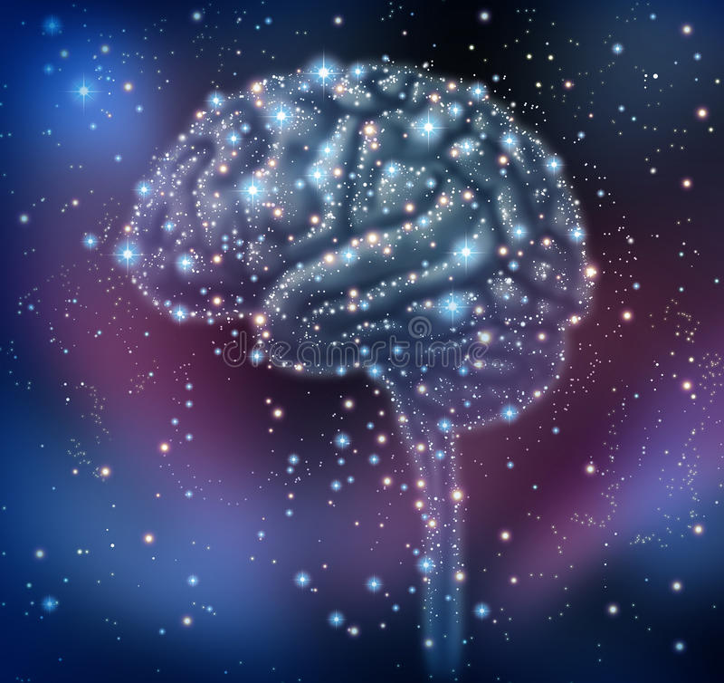 Ανακάλυψη νοημοσύνης εγκεφάλου απεικόνιση αποθεμάτων