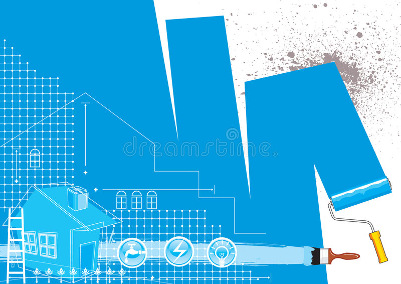 ανακαίνιση σπιτιών ελεύθερη απεικόνιση δικαιώματος