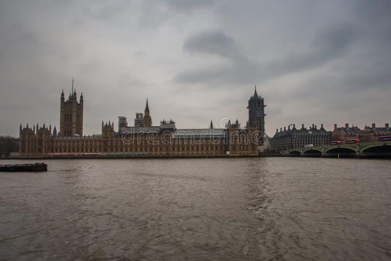 Ανακαίνιση Big Ben και του Κοινοβουλίου στοκ φωτογραφία με δικαίωμα ελεύθερης χρήσης