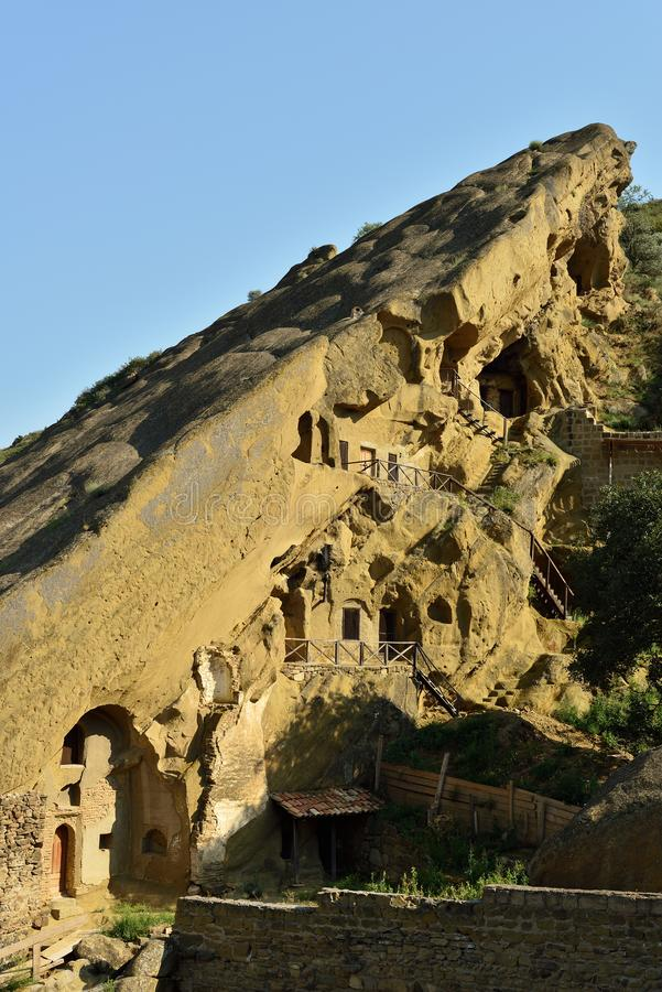 Ανακαλύψτε την επωτίδα Gareja ένα από το μεγαλύτερο μοναστήρι σύνθετο στη Γεωργία στοκ εικόνα με δικαίωμα ελεύθερης χρήσης