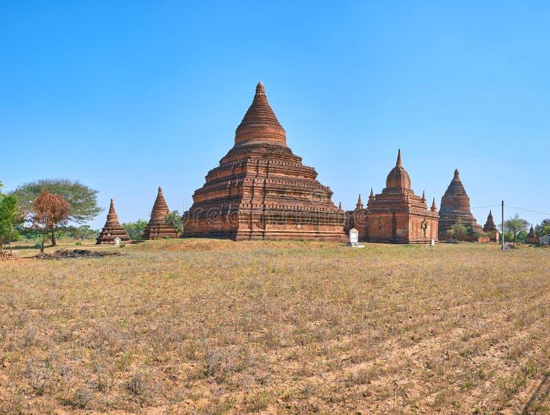 Ανακαλύψτε το Bagan, το Μιανμάρ στοκ εικόνα